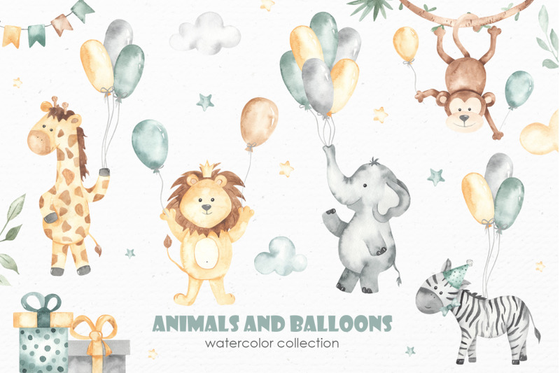 animals-and-balloons-watercolor