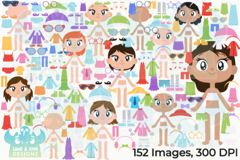 paper-dolls-girls-clipart-lime-and-kiwi-designs