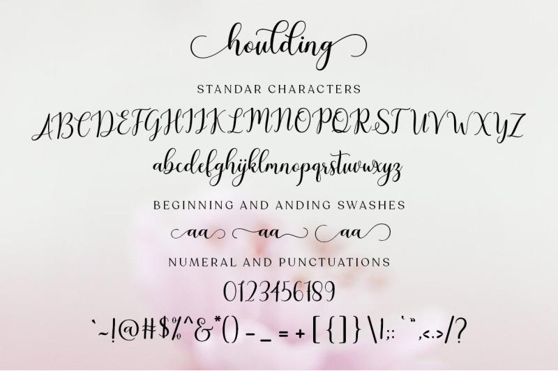 houlding-script