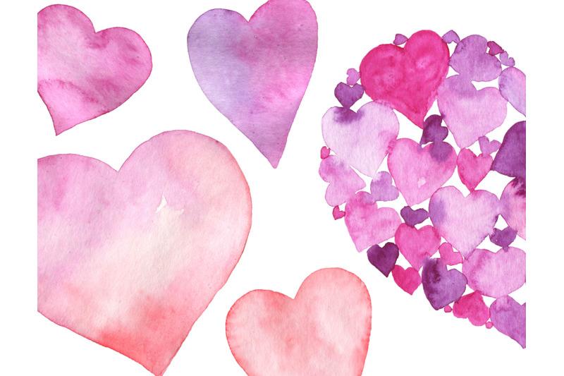 watercolor-heart-clipart-valentine-hearts-love-clip-art-valentines-day