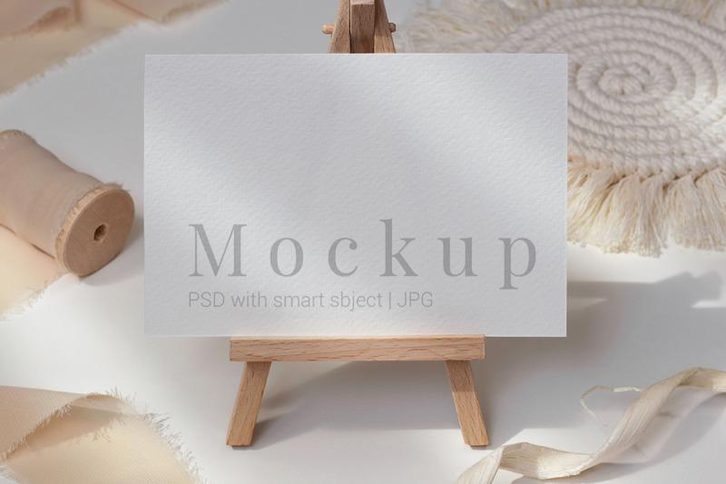 Download Card Mockup,Invitation Mockup,5x7 Card Mockup Free Mockups