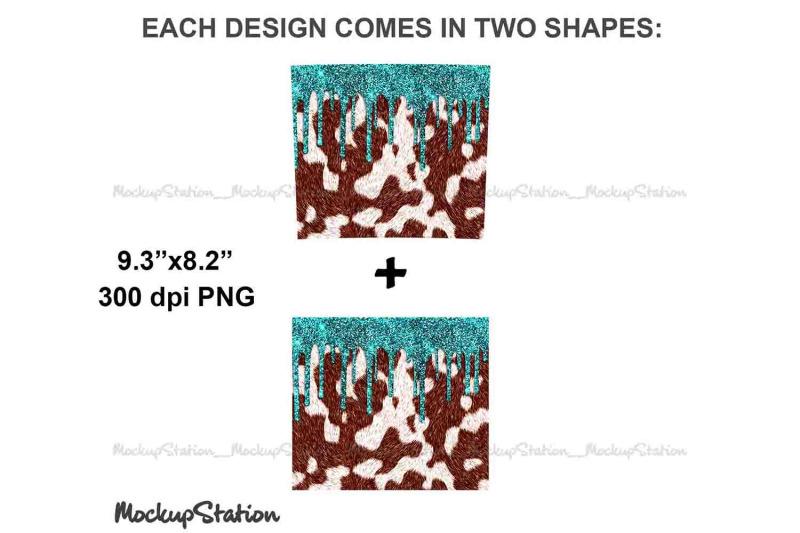 cowhide-glitter-20oz-skinny-tumbler-design-sublimation-png