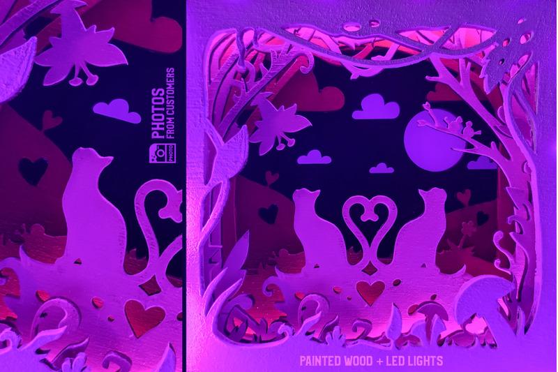 love-cats-3d-shadow-box-svg-cut-file