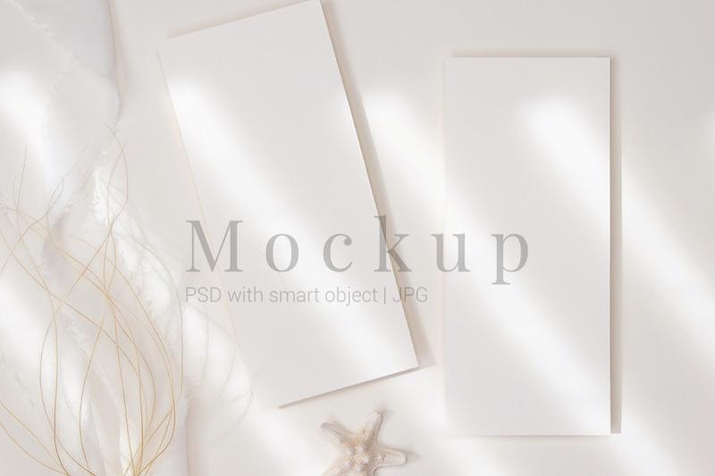 invitation-card-4x9-card-mockup-styled-menu-card