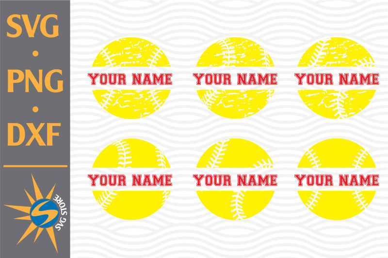 split-softball-svg-png-dxf-digital-files-include