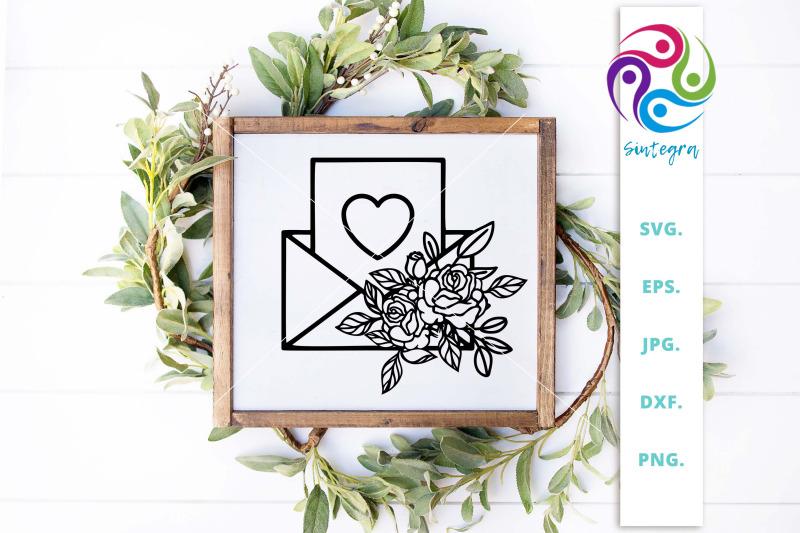 floral-envelope-valentine-svg