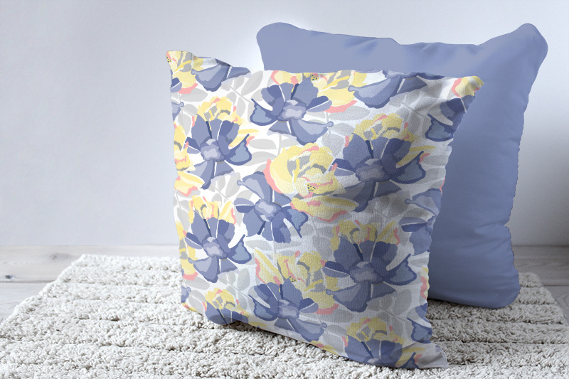 blue-yellow-pastel-flowers