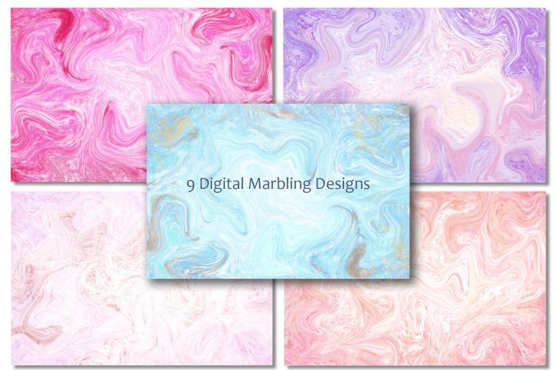 suminagashi-marbled-texture-cards