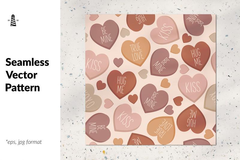 conversation-hearts-seamless-pattern
