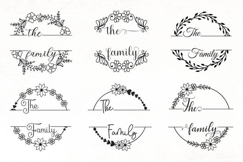 floral-family-monogram-svg-bundle