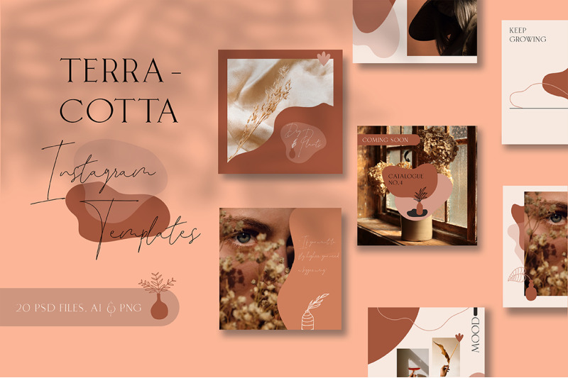 terracotta-instagram-templates
