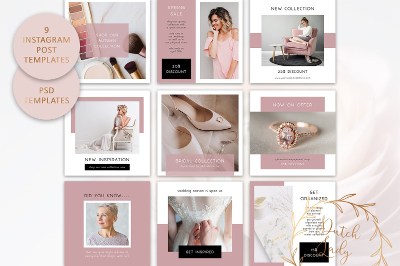 psd-instagram-post-template-set-7