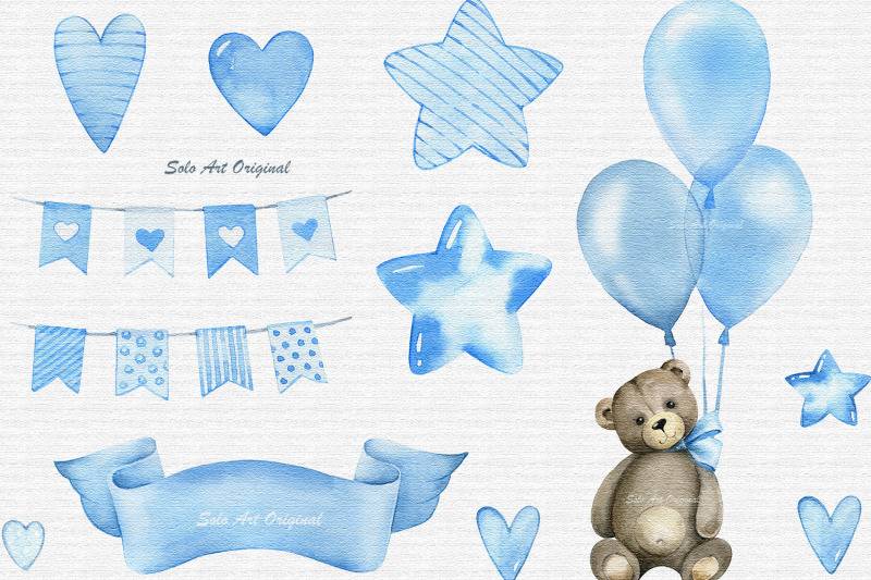 baby-shower-clipart-teddy-bear-baby-boy-png-watercolor