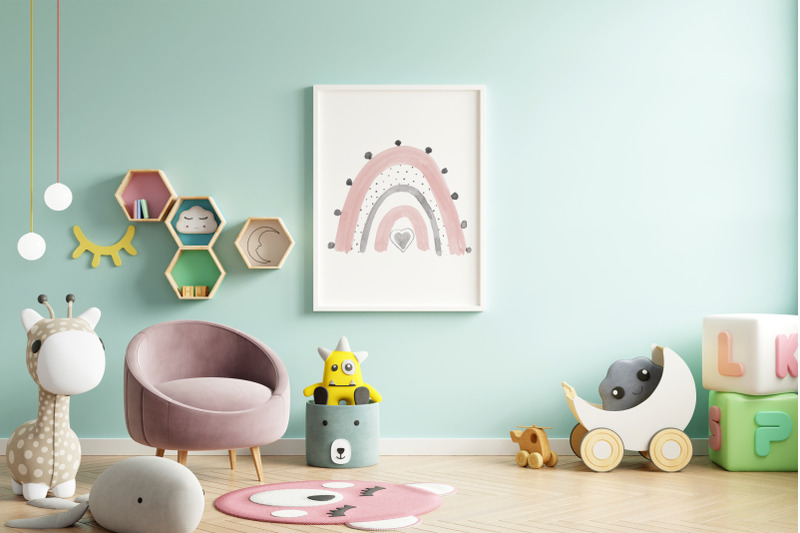 boho-neutral-rainbow-blush-pink-modern