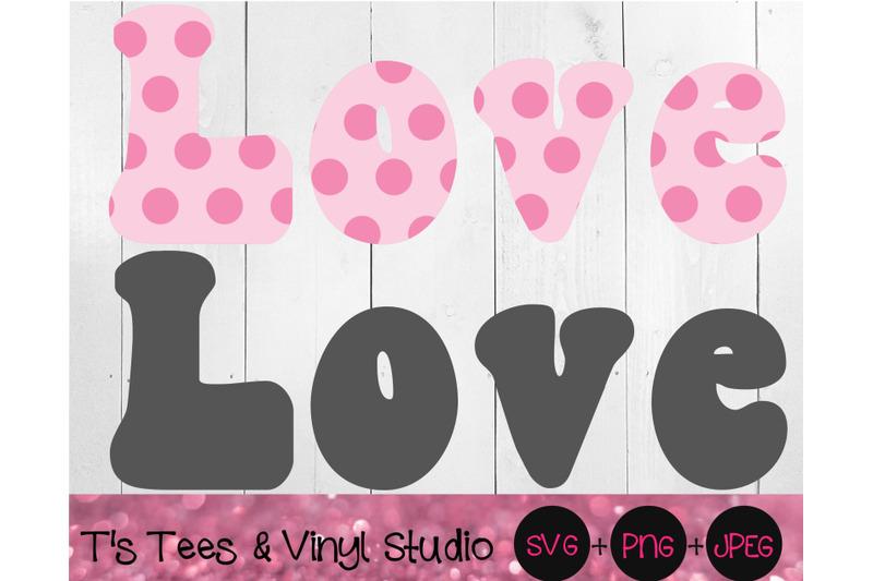 retro-love-pink-polka-dots-love-cut-file-print-and-cut-printable