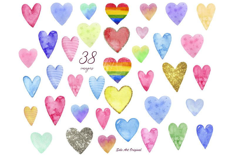 hearts-clipart-valentine-039-s-day-love-hearts-set-watercolor-hand-painted