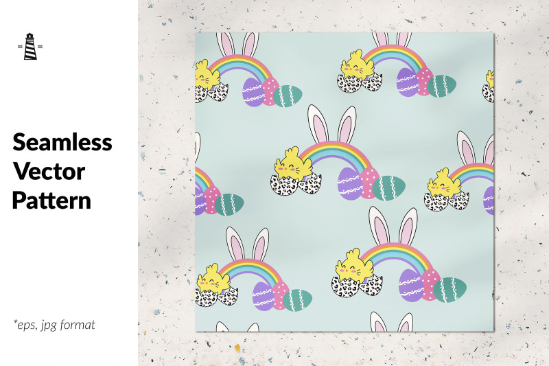 easter-bunny-seamless-pattern
