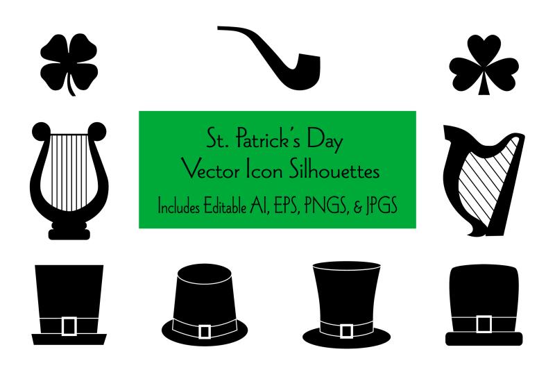saint-patrick-039-s-day-icon-silhouettes