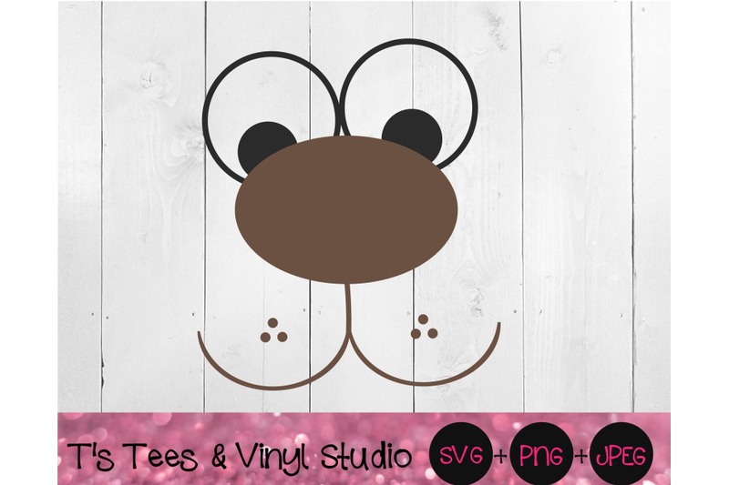 bear-face-puppy-face-svg-quirky-animal-forest-animals-zoo-animals