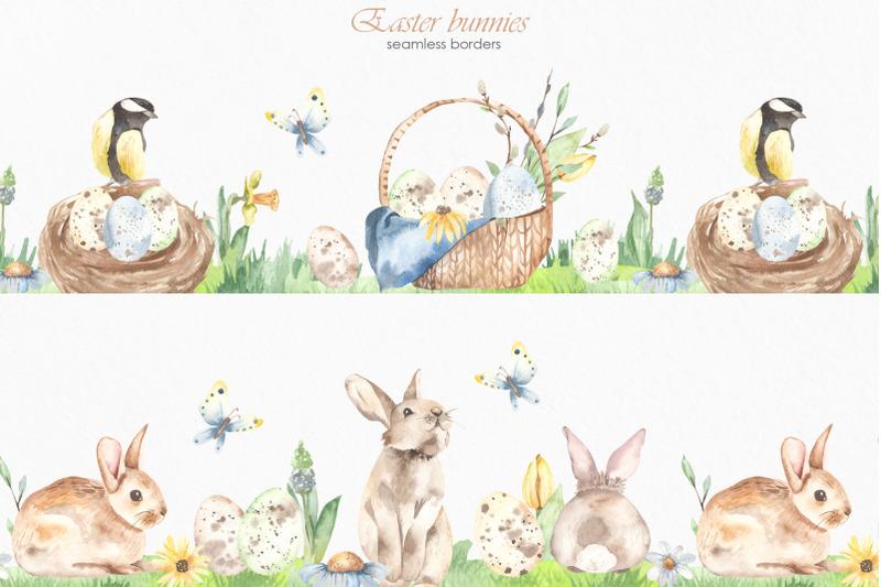 easter-bunnies-watercolor