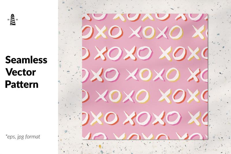 xoxo-seamless-pattern