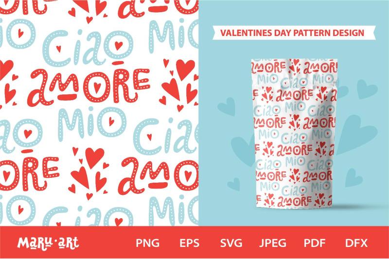 italian-love-quotes-seamless-pattern