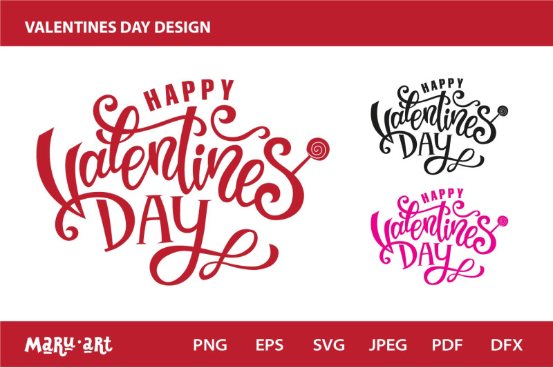 valentines-day-party-design-sign-logo