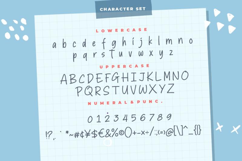 sticky-marker-typeface