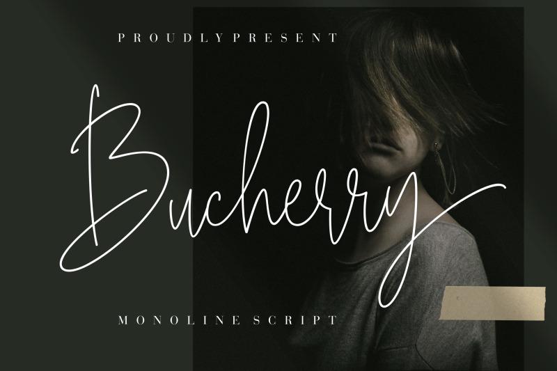 bucherry-monoline-script