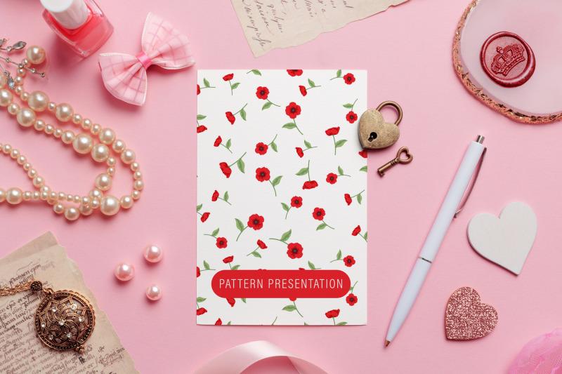 pink-love-portrait-card-mockup