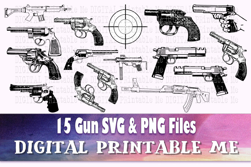 gun-svg-handgun-silhouette-bundle-png-clip-art-15-digital-files