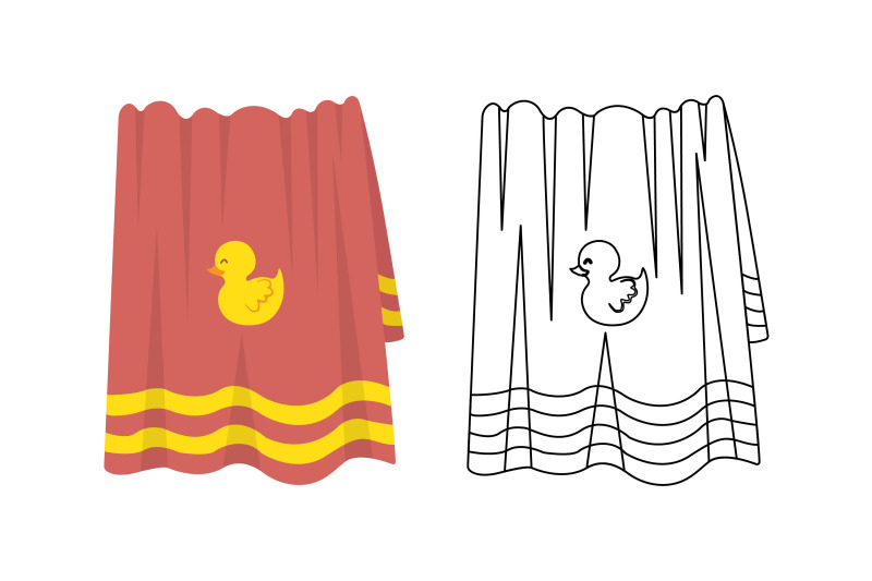 towel-swimming-pool-fill-outline-icon