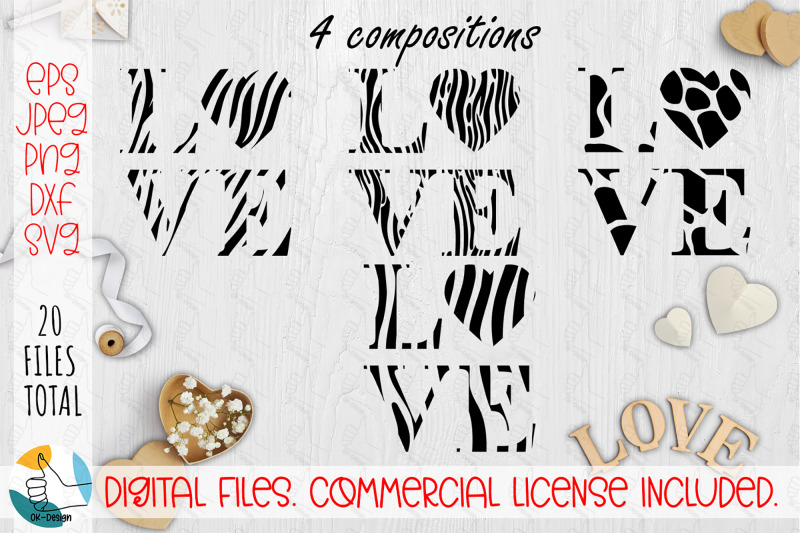 love-animal-print-heart-svg-cut-file-black-quote-svg-dxf-png-files