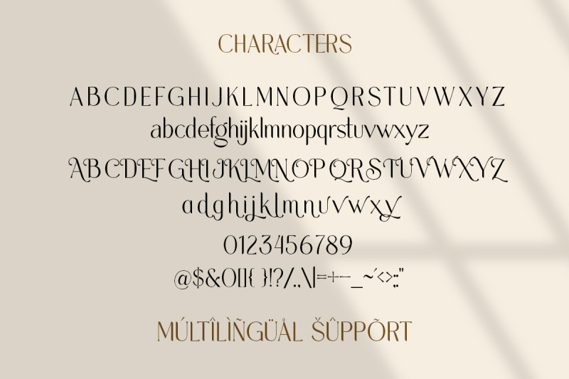 melorist-display-ligature-font