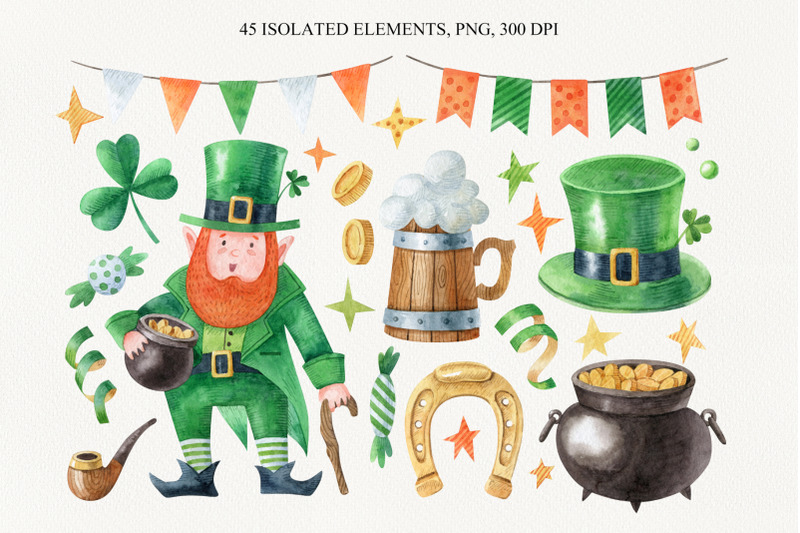 saint-patrick-s-day-watercolor-collection