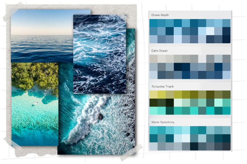 sea-colors-swatches-for-procreate-marine-life-procreate-color-palette