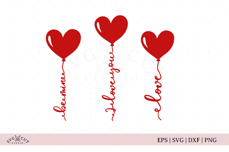 valentines-day-heart-balloons-svg-cut-files