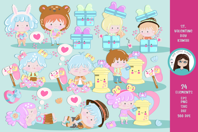 valentines-day-kawaii-clipart