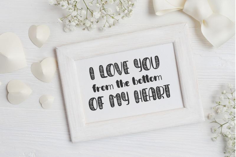 big-love-hand-drawn-font