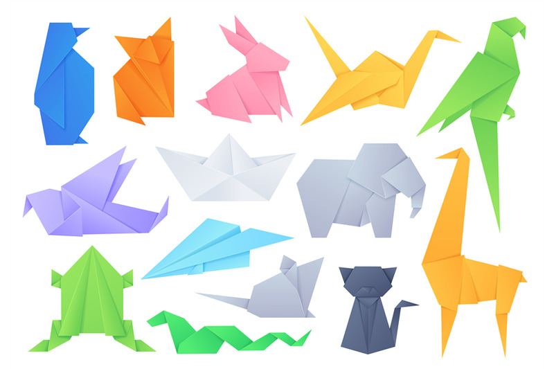 origami-animals-geometric-folded-shapes-for-japanese-game-paper-boat