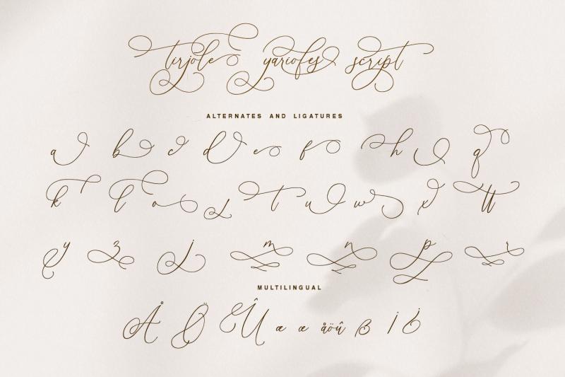 tirjole-yariofes-romantic-stylish-calligraphy