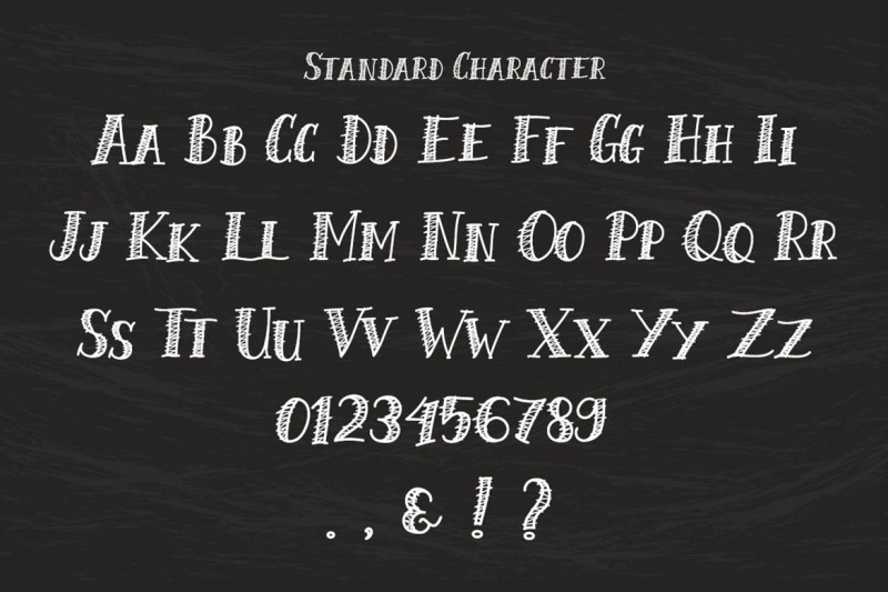 chalk-scratch-font