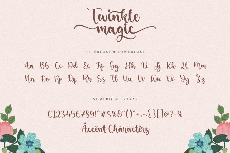 twinkle-magic-lovely-modern-script-font