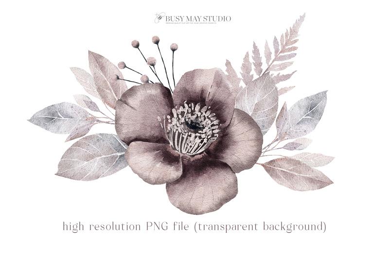 watercolor-flower-arrangement-wedding-florals-hand-painted