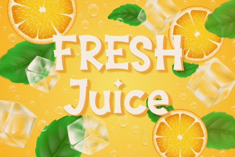orange-juice-display-font