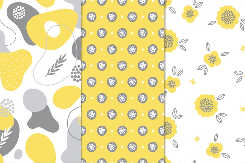 12-yellow-amp-grey-seamless-patterns