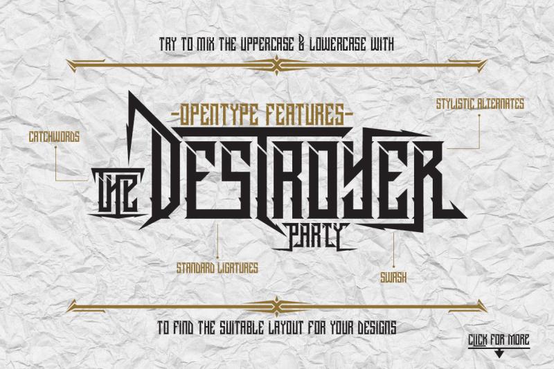 dramaga-typeface