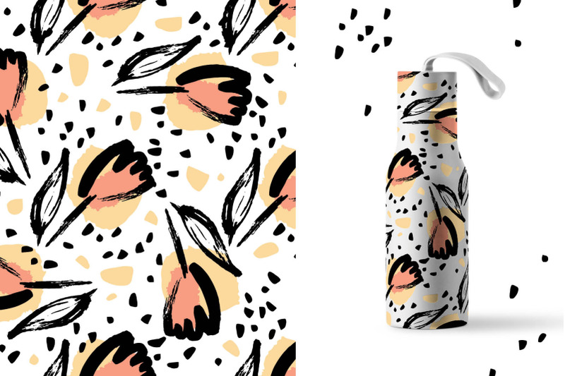 spring-flowers-patterns-collection