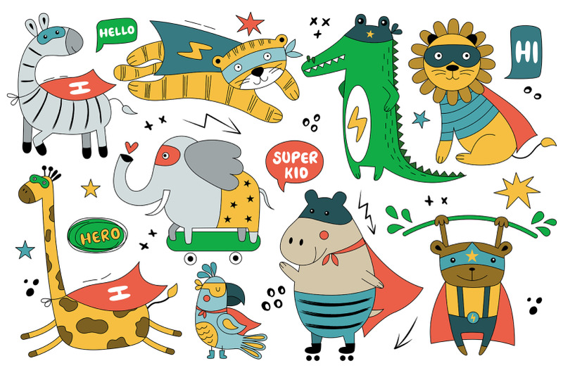 wild-animals-in-comic-costumes