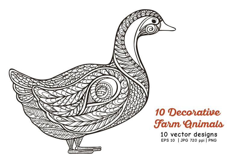 10-decorative-farm-animals